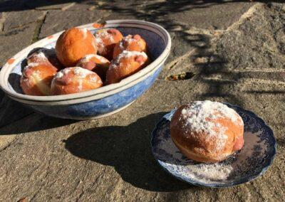 Pravé kynuté koblihy s jahodovým krémem, recepty, Čas na TE.BE.